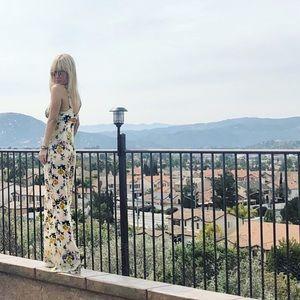Dresses & Skirts - Floral Jumpsuit